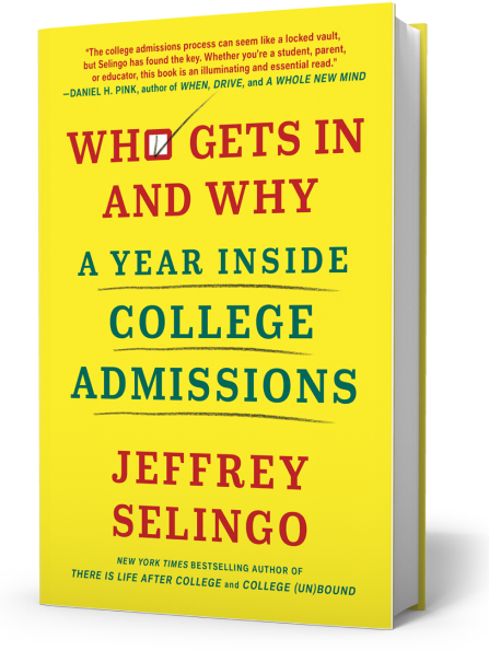 Cover of Who Gets In and Why, New York Times Notable book of 2020